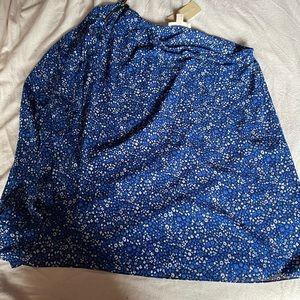 NWT Michael kors asymmetrical blouse